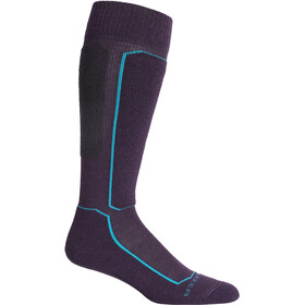 Icebreaker Ski+ Light OTC Socks Dame Lotus